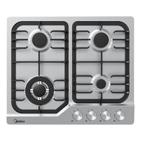 Midea Gas Cooktop Stainless Steel 60cm MCG601SS - Star Sparky Direct