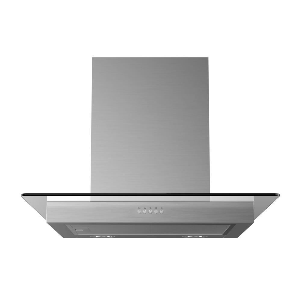 Midea Canopy Rangehood Flat Glass 60cm MHC60GSS - Star Sparky Direct