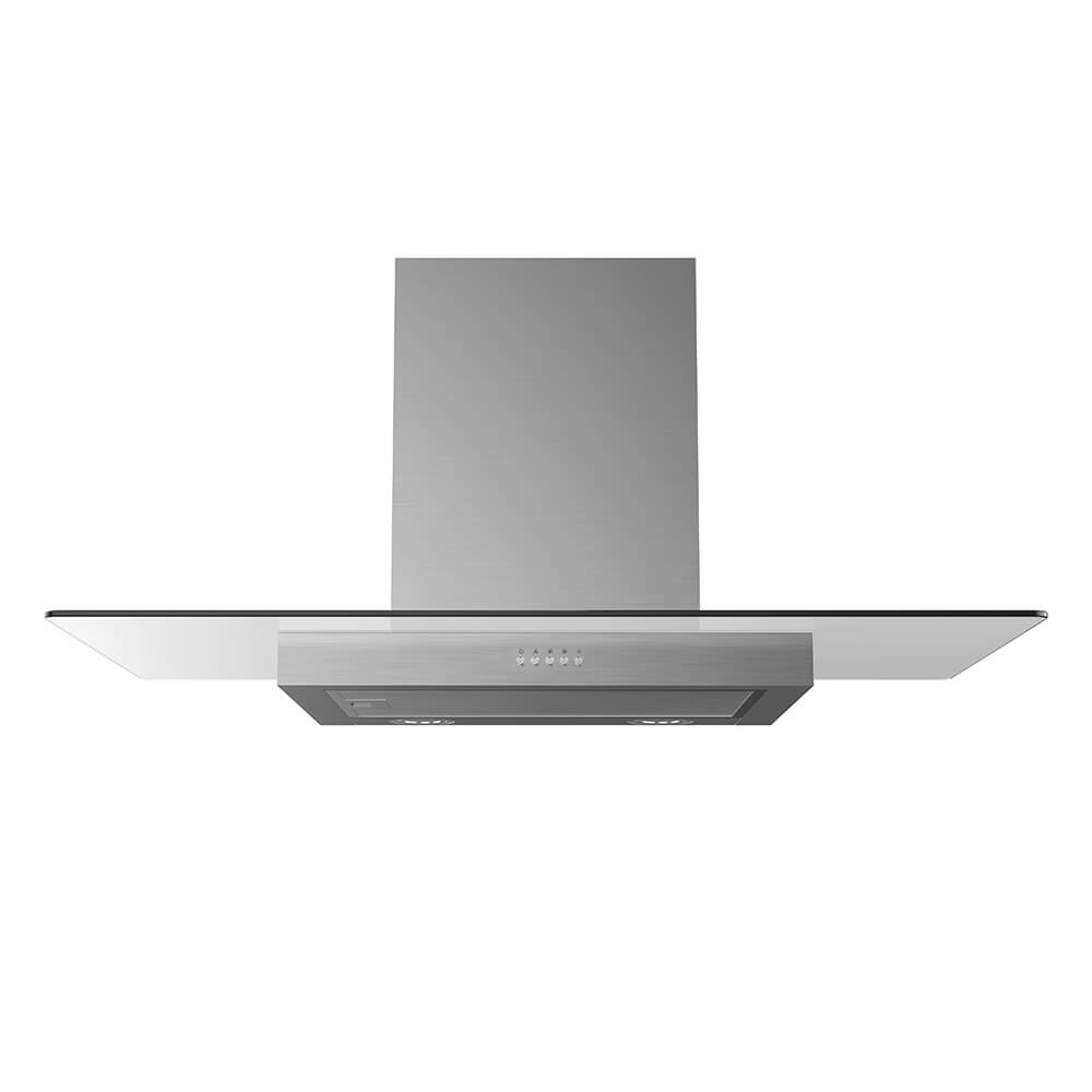 Midea Canopy Rangehood Glass 90cm MHC90GSS - Star Sparky Direct