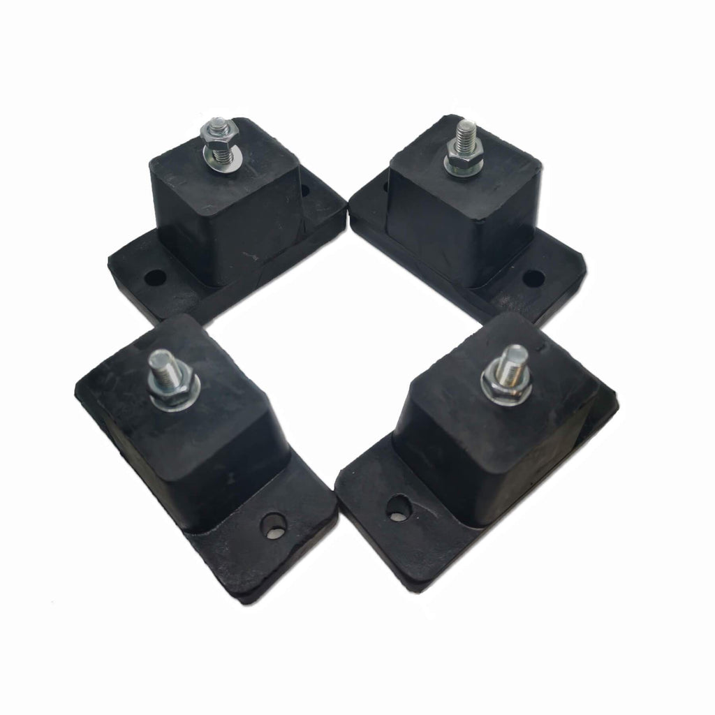 Air conditioner Anti-Vibration Rubber Feet Mountings - Star Sparky Direct