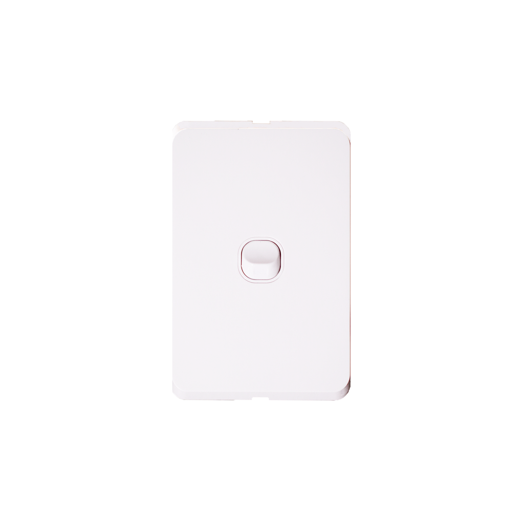 1 Single Gang Double Pole Light Switch - RS303-V - Star Sparky Direct