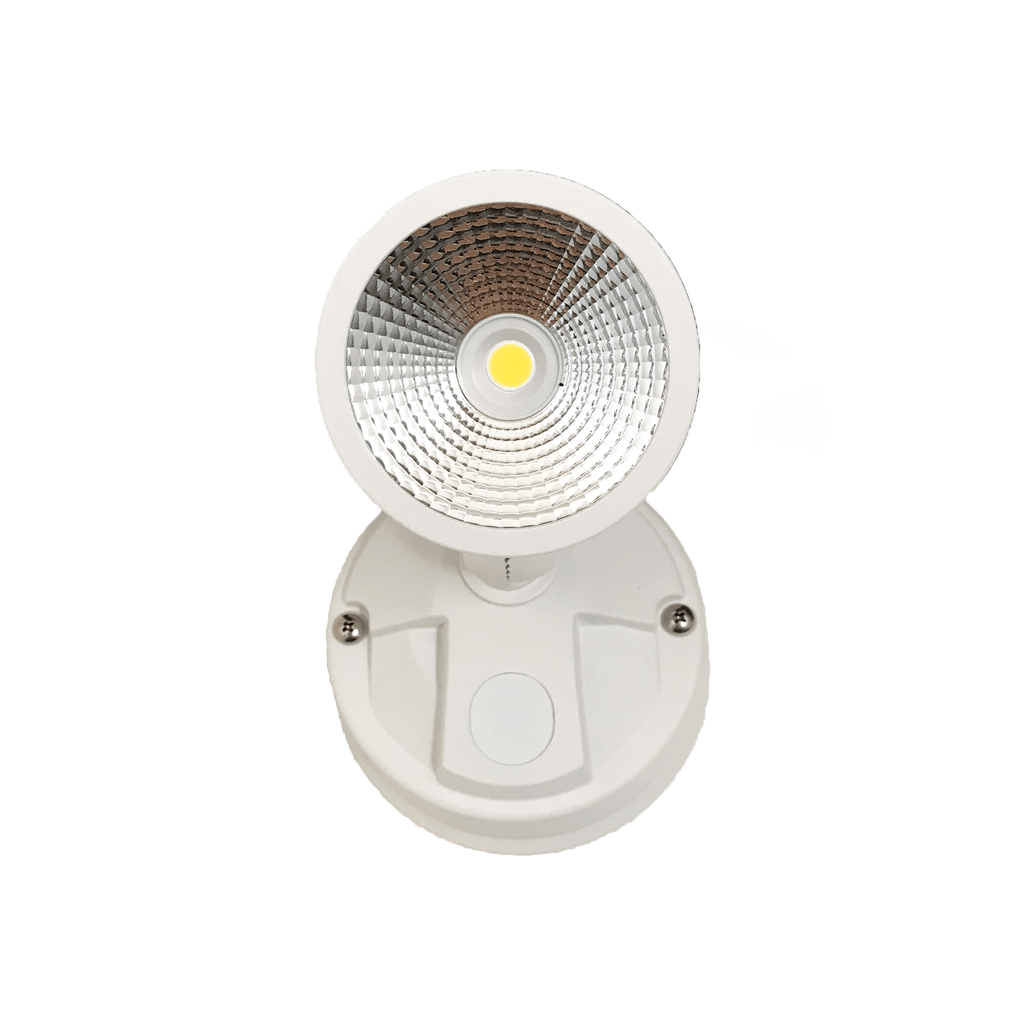Starco 12W LED Single Head Spotlight White - Star Sparky Direct