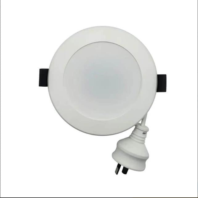 9W LED Tri-Colour Downlight with Changing Colour via Wall Switch