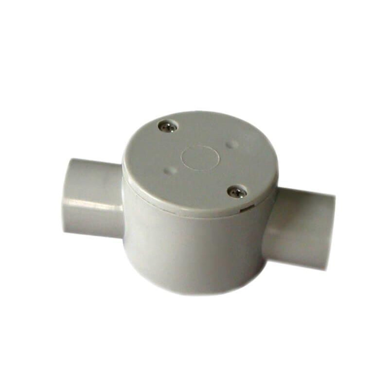 2 Way 20mm Junction Box Shallow - Star Sparky Direct