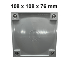 Load image into Gallery viewer, Adaptable Weatherproof Electrical Junction Box - 108x108x76mm - Star Sparky Direct