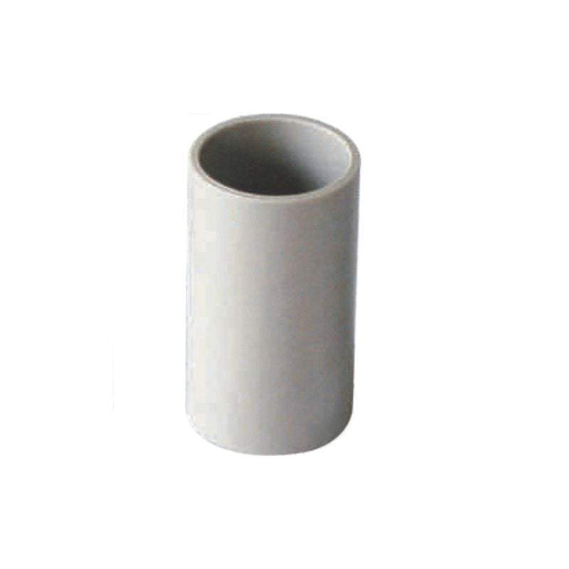 32mm PVC Coupling Plain Grey Conduit Electrical Cable Fitting - Star Sparky Direct