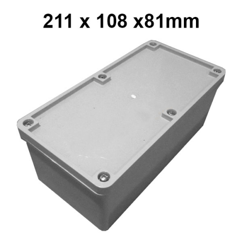 Adaptable Weatherproof Electrical Junction Box - 211x108x81mm - Star Sparky Direct