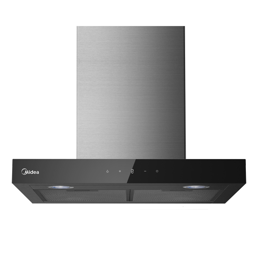 Midea Canopy Rangehood Black 60cm MHT60BL - Star Sparky Direct