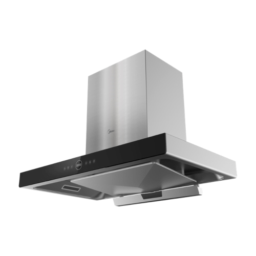 Midea Canopy Rangehood Black 90cm MHAT90S - Star Sparky Direct