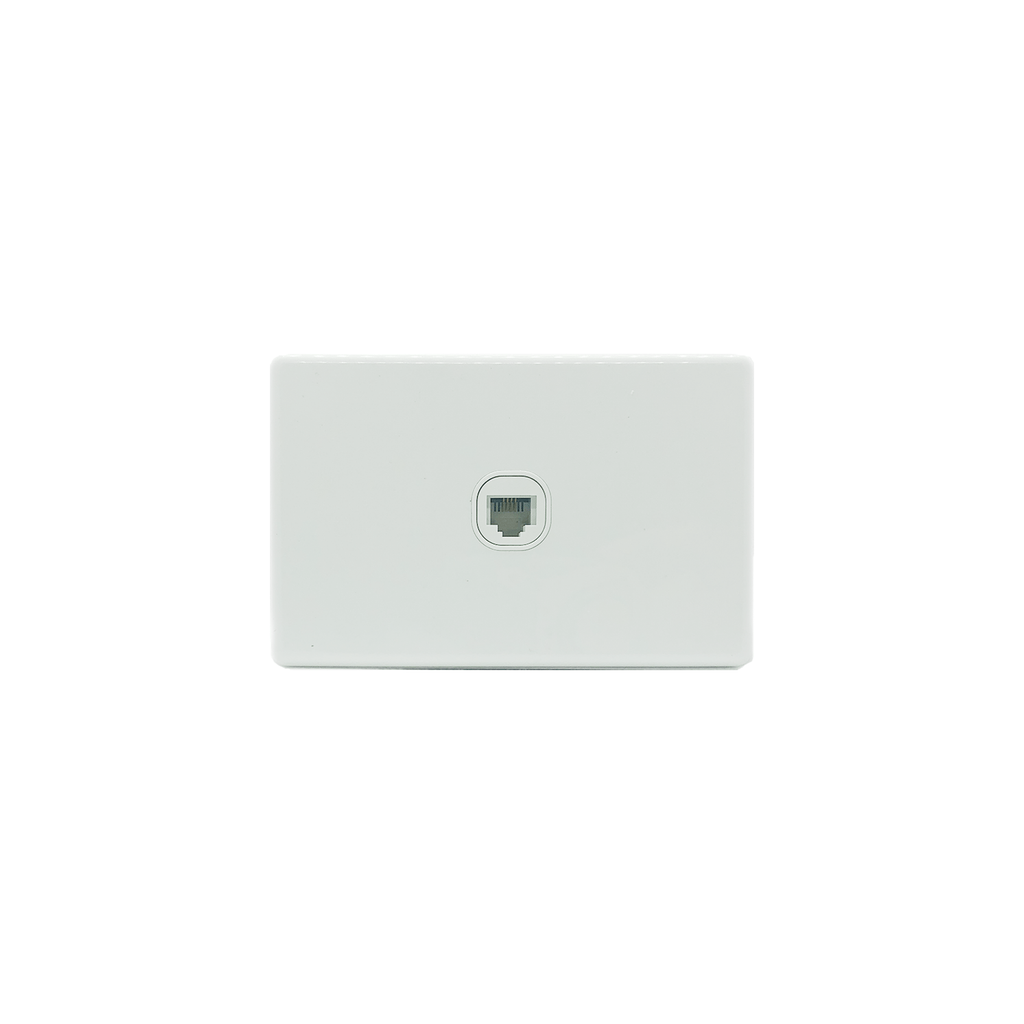 1 Gang 4 Core Telephone Outlet Socket - Star Sparky Direct