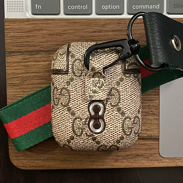 Luxury GG AirPod Case Generation 1/2 Gucci