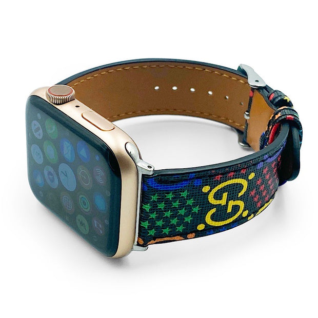 Luxury Rainbow Apple Watch Band