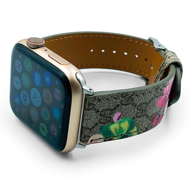 Luxury Floral Apple Watch Band