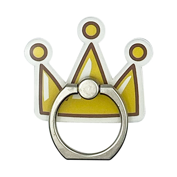 Gold Crown Phone Ring