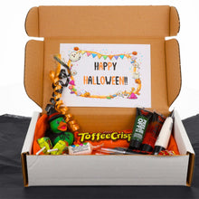 Load image into Gallery viewer, Halloween Rubber Duck & Sweets Trick or Treat Gift Box