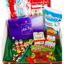 Load image into Gallery viewer, Personalised Christmas Box Fun for Families/Children Filled with Treats and Christmas Activities