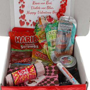 Valentines Couples Night In Pamper Box