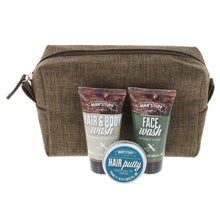 Load image into Gallery viewer, Personalised Men's Filled Wash Bag Gift