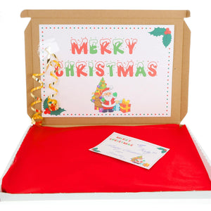 Christmas Sweet Treat Gift Box with Christmas Toys