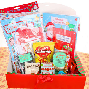 Christmas Eve Box Filled with Activities and Hanging Christmas Toy - Always Looking Good UK
