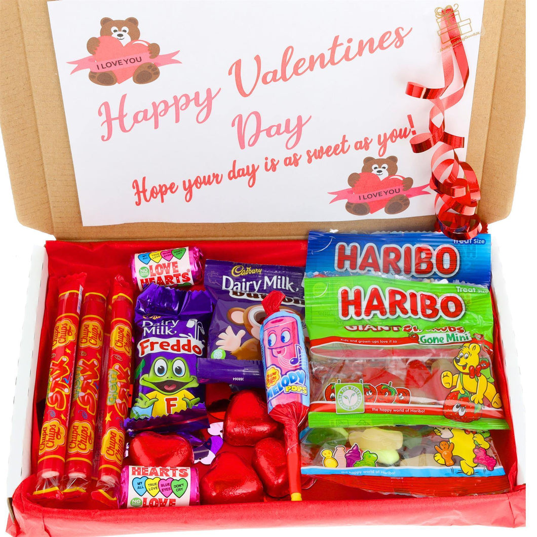 Kids Valentines Day Be Mine Sweets and Chocolate Letterbox Gift - Always Looking Good UK