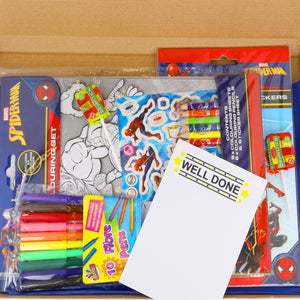 Spiderman Kids Activity Pack Gift Box - Always Looking Good UK