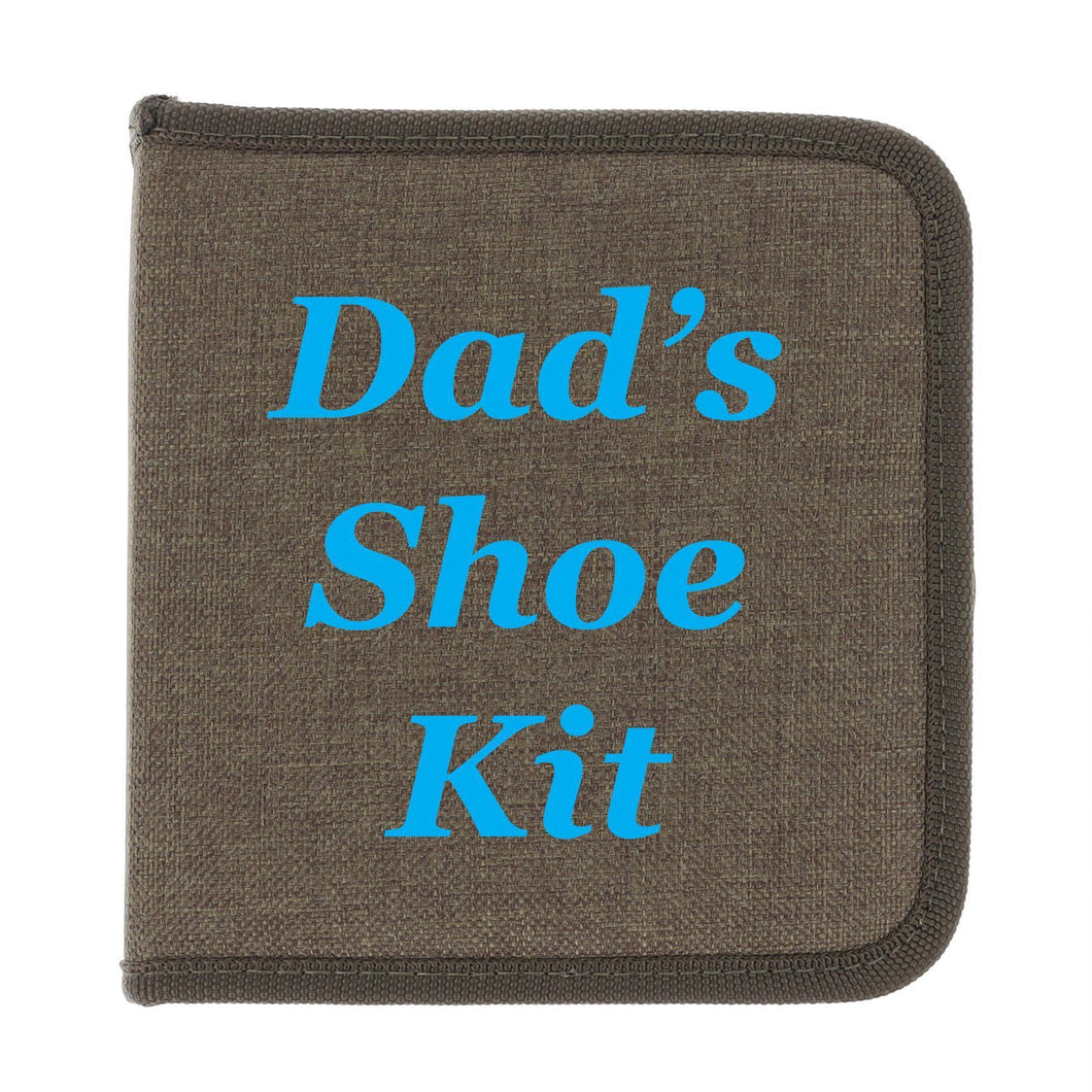 Personalised Men's Shoe Buffing Kit Gift