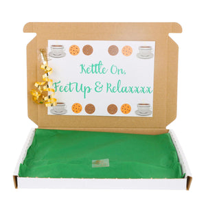 Tea and Biscuit Lover Letterbox Gift Box