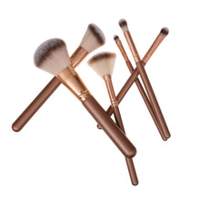 Load image into Gallery viewer, Personalised Cosmetic Case Filled Make Up Brushes - Always Looking Good UK