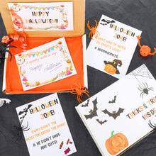 Load image into Gallery viewer, Halloween Trick or Treat Gift Box with Face Paints