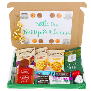 Coffee and Biscuit Lover Letterbox Gift