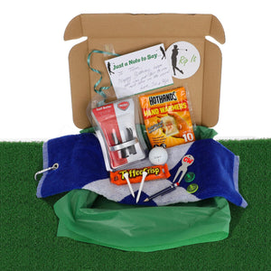 Personalised Deluxe Golf Lovers Accessory Gift Set