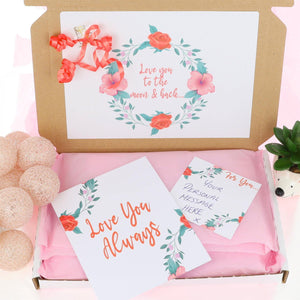 Extra Large Pamper Hamper Letterbox Gift Personalised Postal Box - Always Looking Good UK