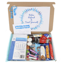 Load image into Gallery viewer, Mens Chocolate Lover Pamper Filled Large Treat Box - Always Looking Good UK