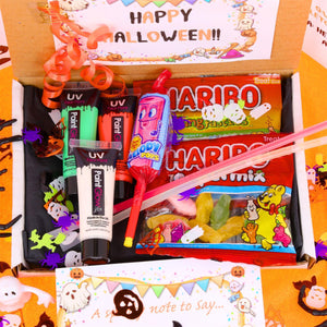 Halloween Trick or Treat Gift Box with Face Paints