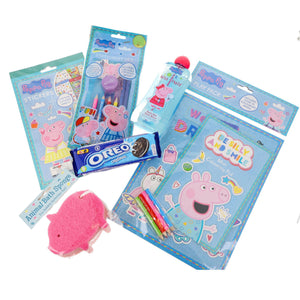 Peppa Pig Fun Schools Out Kids Activity Pack inc Oreos, Colouring Book and more - Always Looking Good UK
