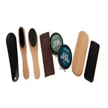 Load image into Gallery viewer, Personalised Men's Shoe Buffing Kit Gift