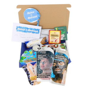 Pamper Treat Box for Men Letterbox Gift - Always Looking Good UK