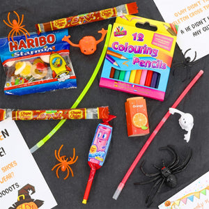 Halloween Trick or Treat Gift Box with Colouring Pencils