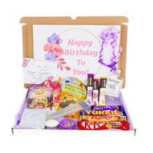 Load image into Gallery viewer, Extra Large Pamper Hamper Letterbox Gift Personalised Postal Box