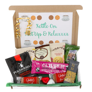 Hot Chocolate and Biscuit Lover Letterbox Gift - Always Looking Good UK