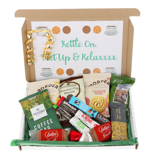Coffee and Biscuit Lover Letterbox Gift - Always Looking Good UK
