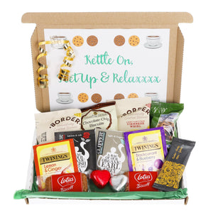 Tea and Biscuit Lover Letterbox Gift - Always Looking Good UK
