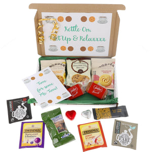 Tea and Biscuit Lover Letterbox Gift