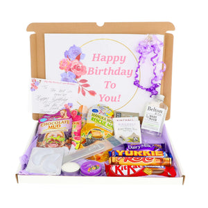 Extra Large Pamper Hamper Letterbox Gift Personalised Postal Box