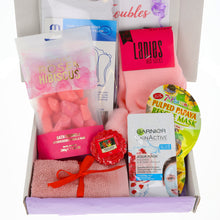 Load image into Gallery viewer, LARGE - Bath Time Pamper Hamper Gift Box