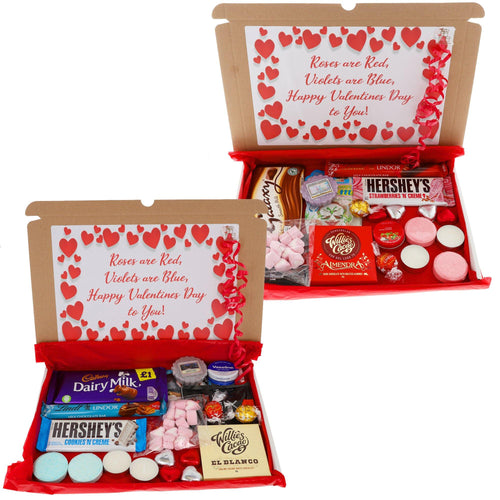 Valentines Day Letterbox Hampers - Always Looking Good UK