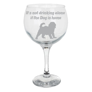 Cockapoo Personalised White Wine Glass