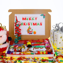 Load image into Gallery viewer, Christmas Sweet Treat Gift Box with Christmas Toys