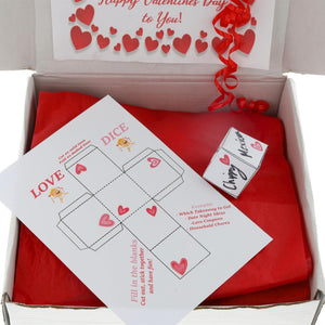 Valentines Couples Night In Pamper Gift Box
